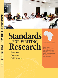 Standards for Writing Research